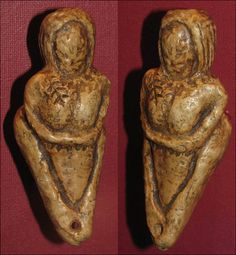 Siberian Venus--World famous ancient Siberian Venus figurines 'are NOT Venuses after all'