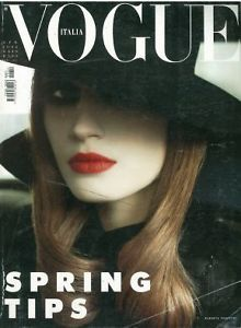 Vogue Italia April 2002   #vintage #magazine #vogue #italia #springtips