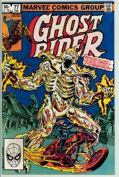 Ghost Rider 77 (VF- 7.5)