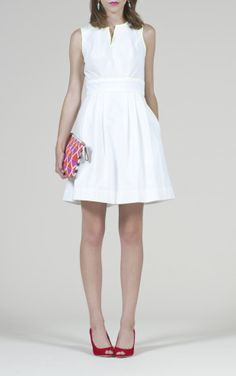 Kara Dress: White #LWD