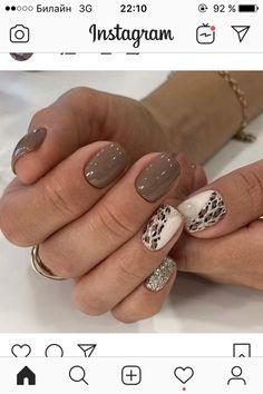 Shellac Nails, Nail Manicure, Acrylic Nails, Pedicure, Get Nails, Fancy Nails, Stylish Nails, Trendy Nails, Leopard Nails
