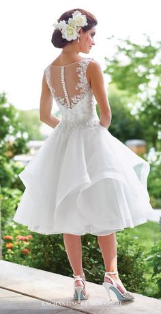 David Tutera wedding dress for Mon Cheri; Click to see more dresses from this collection.