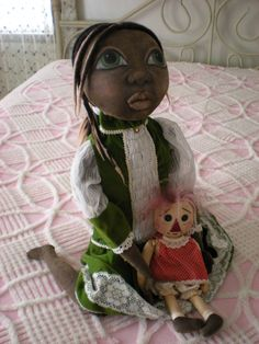 What a beautiful little doll.