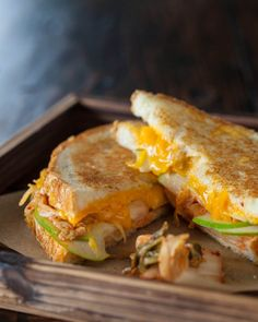 """Grilled Kimcheese Sandwich by Joe Yonan, author of """"Serve Yourself: Nightly Adventures in Cooking for One"""" and """"Eat Your Vegetables: Bold Recipes for the Single Cook"""" and Washington Post foodie.       Pinning made easy! http://www.pinny.co Pin any photo in any website with a click."""