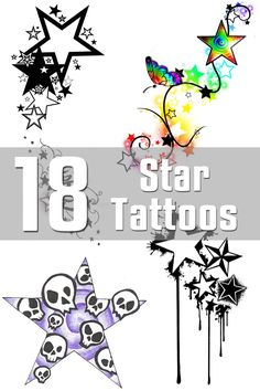 15 Star Tattoo Designs | The Body is a Canvas