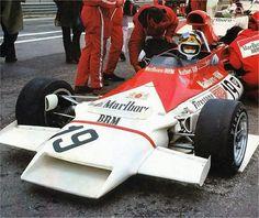 Jean Pierre Beltoise GP Spain '72 - BRM