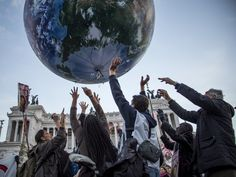 The Paris climate talks kicked off Monday and run through Dec. 11. The talks have been met online with a bevy of articles and data showing that it's too late to totally stop global warming — the w…