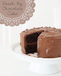 Tassenkuchen - Bäckerei: Death By Chocolate Cake