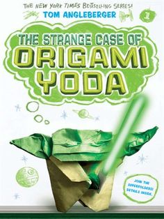 The Strange Case of Origami Yoda by Tom Angleberger - Available via #overdrive and through the OCPL catalog!
