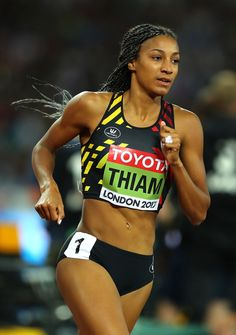 Nafissatou Thiam Photos Photos: IAAF World Athletics Championships London 2017 - Day Three Jackie Joyner Kersee, Weight Loose Tips, Heptathlon, World Athletics, Girls Run The World, Justin Bieber Pictures, Sport Hall, Athletic Girls, Fitness Photoshoot