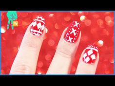 Christmas Nail Art Tutorial! -