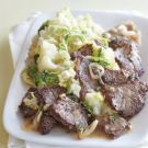 Try the Beef Medallions with Spring Mashed Potatoes Recipe on Williams-Sonoma.com...... Looks quite Yummy!
