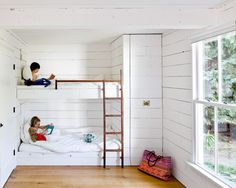 simple bunk room. really they don't need much!