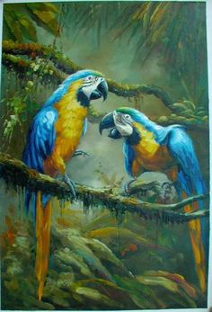 easy paintings of animals18