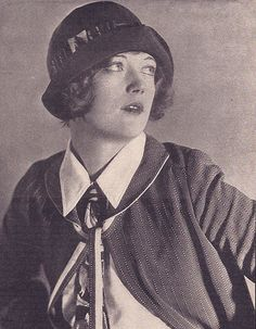 Marion Davies in a 1923 Cloche by Lilly Daché