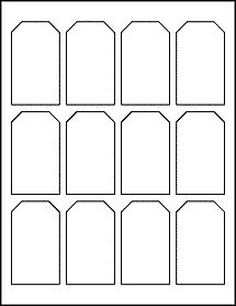 free printable gift tag templates for word - free blank label template download wl 125 template in