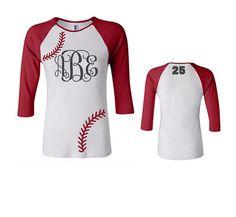 Hey, I found this really awesome Etsy listing at https://www.etsy.com/listing/219990908/monogram-baseball-shirt-monogram