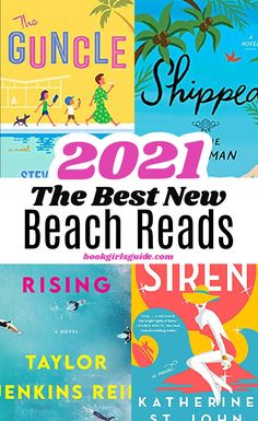 A list of 15 new books for 2021, including plot summaries for each of the highly-rated beach reads. Whether you're looking for a love story, a tale of best friends, or even a mystery, this list has your perfect book to read this summer. Vacation Reads | Summer Books | Summer Novels | Women's Fiction | New Books for 2021 | Top Beach Reads for 2021 | New Release Books To Read In Your 20s, Books To Read For Women, Book Club Books, New Books, Good Books, Best Fiction Books, Best Beach Reads, Summer Books, Beach Reading
