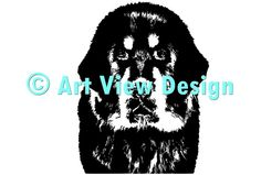 Our Tibetan Mastiff design || Original and one of a kind || Pattern can be used for everything and every cutting machine || ♡