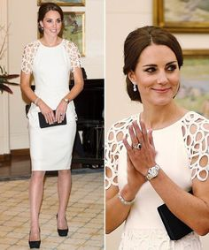 Discover recipes, home ideas, style inspiration and other ideas to try. Moda Kate Middleton, Looks Kate Middleton, Kate Middleton Outfits, Style Outfits, Classy Outfits, Elegant Dresses, Beautiful Dresses, Princesa Kate Middleton, Estilo Real