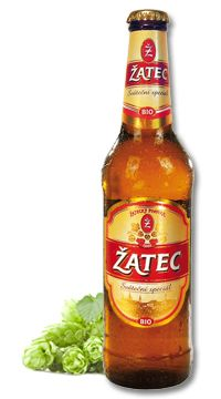 """Žatec Organic special lager - For manufacturing this 15° pale special organic lager, only hops from the Žatec region, barley malt, and water, were used. All the used raw materials were of """"certified organic"""" quality. The beer characteristics given below indicate that it is a product that may liven up a celebratory table on any festive occasion. During its manufacturing, we were thinking of the customers who like beer generally, and who also like to seek special and exceptional products on… All Beer, Best Beer, Czech Beer, Beers Of The World, Beer Labels, Raw Materials, Brewery, Beer Bottle, Organic"""