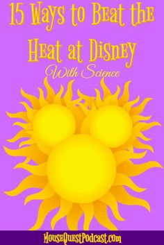 Beat the Heat at Disney / Magic Kingdom / Epcot / Hollywood Studios / Animal Kingdom / Walt Disney World