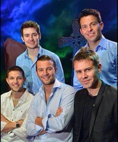 Celtic Thunder in OZ 2014!  You can almost picture George standing between Ryan and Emmet....