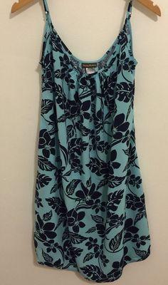 Tommy Bahama Stem Floral Short Beach Dress Cover Up Size Large Style # TSW25524C #TommyBahama