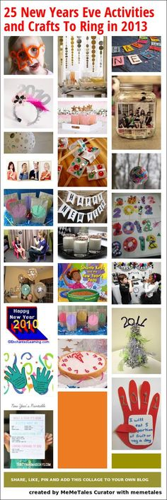 25 New Years Eve Activities and Crafts To Ring in 2013