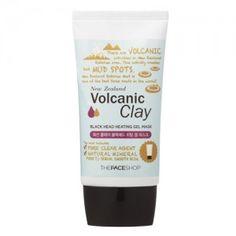 [Thefaceshop] Volcanic Clay Black Head Heating Gel Mask