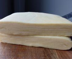 Pate feuilleté inverse  Avec cette recette l'équivalent de 1,2kg de pate