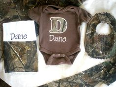 Personalize Your Baby Gifts - Realtree AP Camo Baby Gift Set