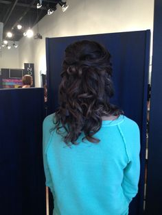 Homecoming hair for medium length brown hair 2013