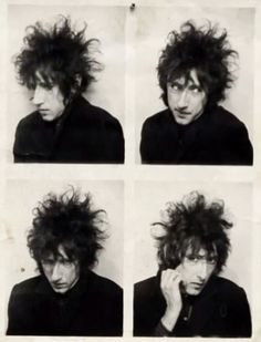 screen cap from `evidently John Cooper Clarke` Mark E Smith, John Cooper Clarke, Happy Birthday John, Yellow Peril, There Goes My Hero, Siouxsie & The Banshees, Elvis Costello, Curly Hair Cuts, Beatnik