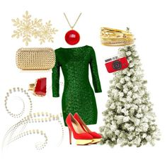 """Christmas look #2"" by fossil0809 on Polyvore"