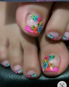 My Nails, Manicure, Lily, Nail Art, Best Nails, Designed Nails, Toenails Painted, Pretty Toe Nails, Simple Toe Nails
