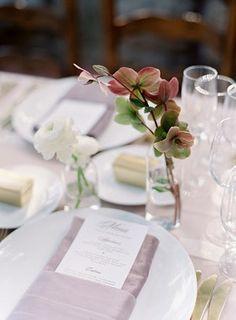 La Tavola Fine Linen Rental: Topaz Parchment with Velvet Rose Napkins | Photography: Ashleigh & Erik, Event Planning: Event of the Season, Florals & Design: Rust & Flourish, Venue: San Ysidro Ranch, Rentals: Party Pleasers