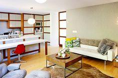 Natalie & Seth's Organic Modern Home...plus some artworks and greens:)