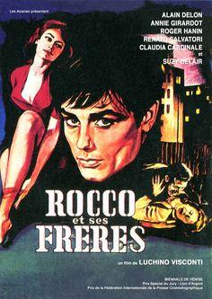 """Cartel Francés de """"Rocco y sus hermanos"""" (1960)"""