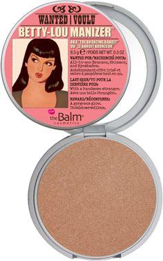 the Balm cosmetics ''Betty-Lou Manizer''