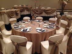 Burlap and Champagne Linens-Key to my Heart Wedding Linens by Special Occasions, Flint MI