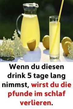 Wenn du diesen drink 5 tage lang nimmst, wirst du die pfunde im schlaf verlieren… If you take this drink for 5 days, you will lose the pounds in your sleep. Health Tips, Health And Wellness, Health And Beauty, Health Fitness, Detox Drinks, Healthy Drinks, Law Carb, Tips Fitness, Fitness Workouts