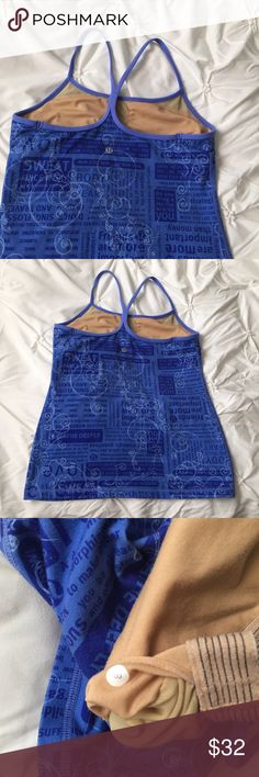 Lululemon Y Back Print Blue Workout Tank Top Lululemon Y Back Print Blue Workout Tank Top size 8   ---- 🚭 All items are from a non-smoking home. 👆🏻Item is as described, feel free to ask questions. 📦 I am a fast shipper with excellent ratings. 👗I do bundle discounts and am open to trades. 😍 Like this item? Check out the rest of my closet! 💖 Thanks for looking! lululemon athletica Tops Tank Tops