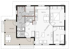 Tuisku / Kontio Future House, My House, Humble Abode, Modern Architecture, House Plans, Floor Plans, Cottage, Windows, How To Plan