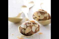 Voňavé mandlové kuličky Christmas Cookies, Cereal, Food And Drink, Vegetables, Breakfast, Advent, Winter, Xmas Cookies, Christmas Desserts