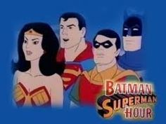 The Batman/Superman Hour is a Filmation animated series that was broadcast on CBS from 1968 to 1969. Premiering on September 14, 1968, this 60-minute program featured new adventures of the DC Comics superheroes Batman, Robin and Batgirl alongside shorts from The New Adventures of Superman and The Adventures of Superboy. This series marked the animation debut of Batman, his supporting cast and some of their classic enemies.