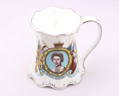Vintage Jubilee Teacup Candle by CherryBlossomCandles on Etsy, £14.00