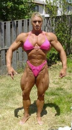 FACT: injecting male testosterone into a female body will give you MAAALLE FEATURES people..