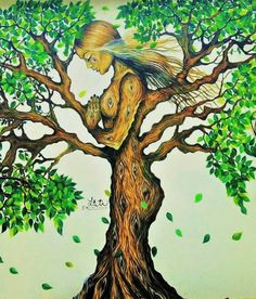 Plant your roots & grow, bloom, expand as far as you possibly can & then evolve…. Plant your roots & grow, bloom, expand as far as you possibly can & then evolve. Tree Of Life Art, Tree Art, Tree Of Life Painting, Black Art, Fantasy Art, Cool Art, Art Projects, Art Drawings, Mandala