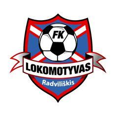 2012, FK Lokomotyvas Radviliškis (Lithuania) #FKLokomotyvasRadviliškis #Lithuania (L10681) Soccer Logo, Soccer Teams, Sports Clubs, Juventus Logo, Football, Logos, Badges, Soccer, Lithuania